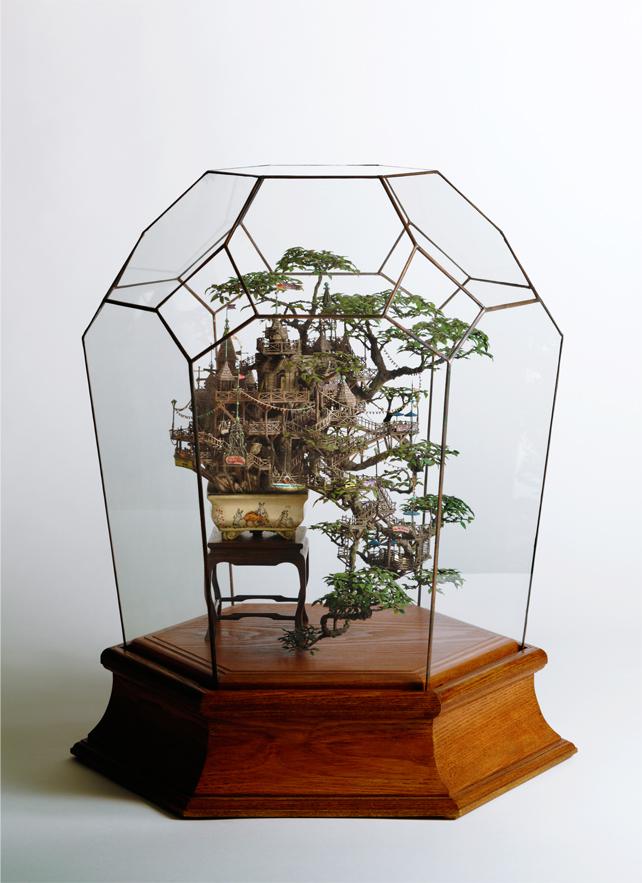 bonsai u terarijumu